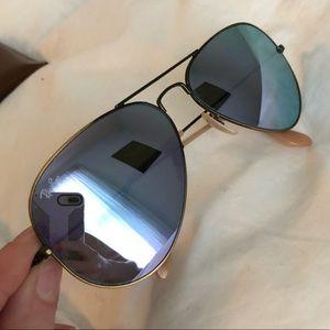 3565c3652a Ray-Ban Accessories - Ray-Ban Aviator Mirror Lens sunglasses